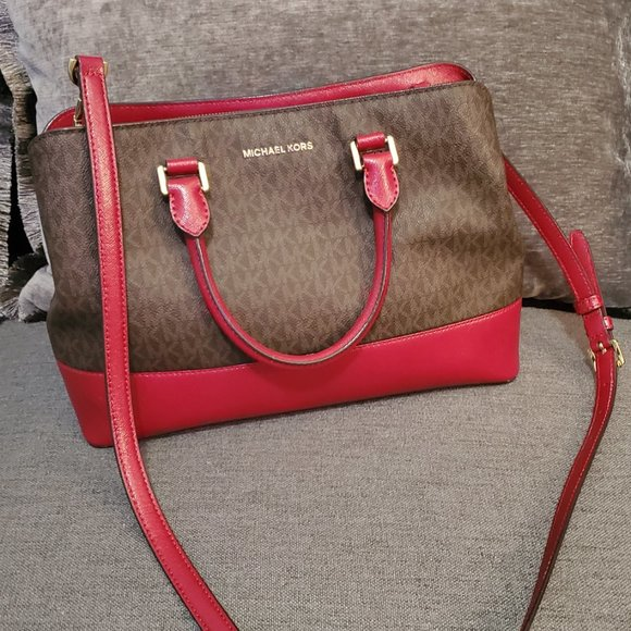 Michael Kors Two-Tone Handbag